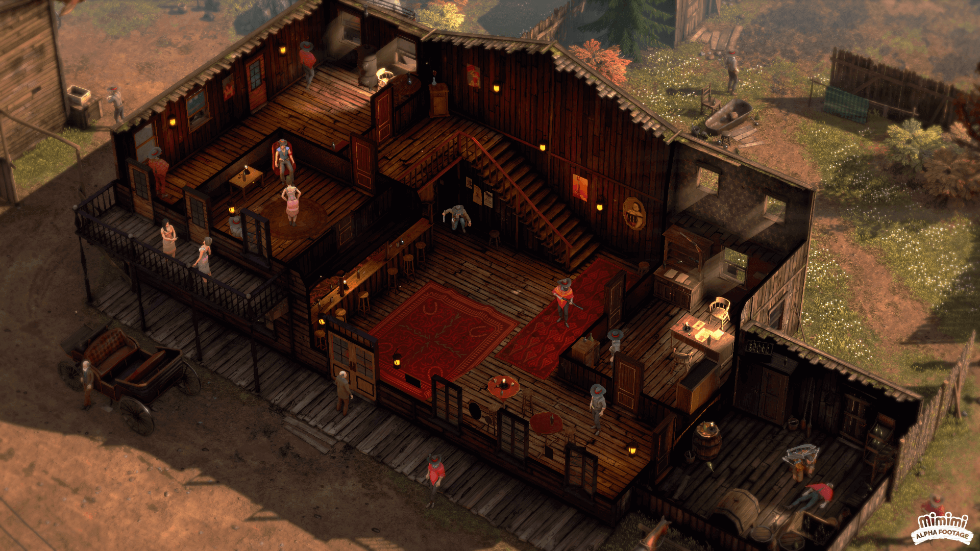 Desperados Iii Dev Blog 3 Is Dedicated To Illustration Gamespace Com