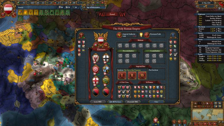 Europa Universalis IV Emperor Is Arriving June 9th
