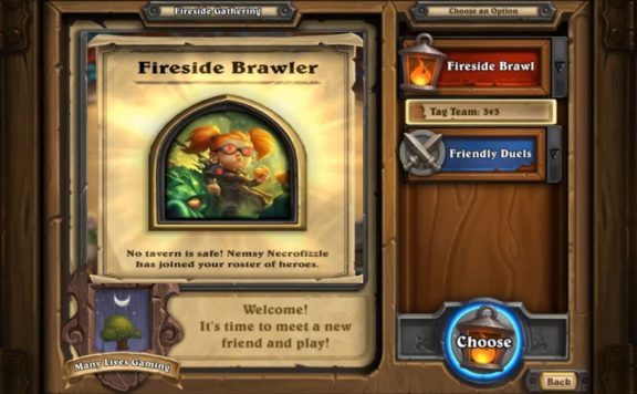 Hearthstone - Recruit Warlock Hero Nemsy For Free For a Limited Time