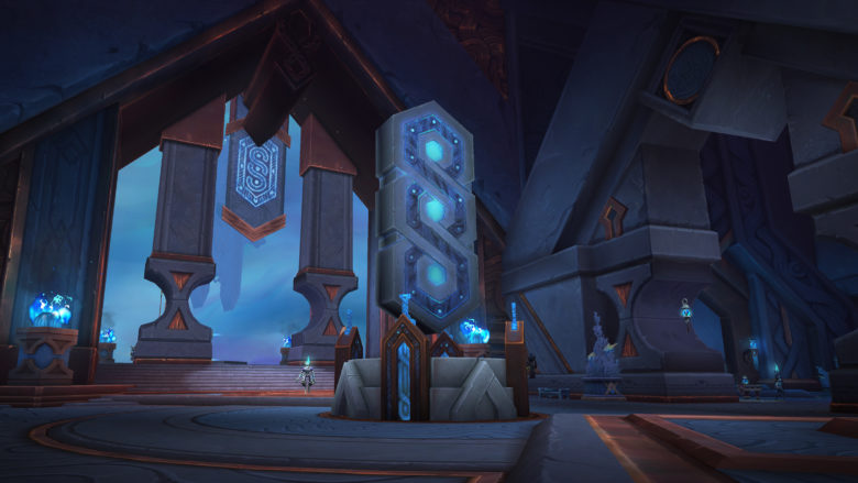 WoW Shadowlands Preview - Oribos