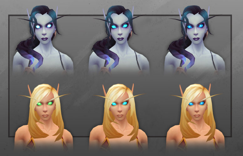 World of Warcraft - New Customization for Blood & Void Elves