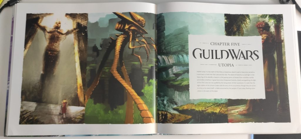 the compelte art of guild wars utopia