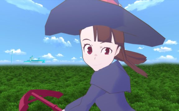 little witch academia vr: broom racing
