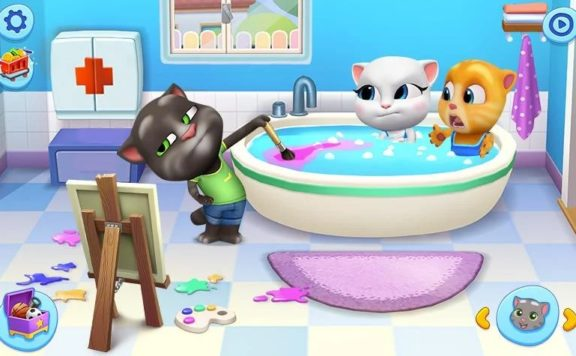 my talking tom friends pre-registration