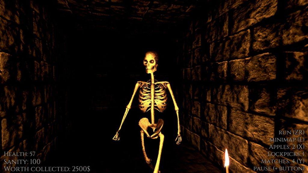 Otherwordly Skeleton