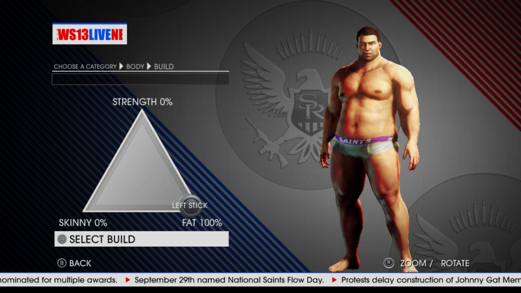 Saints Row IV Character Creation