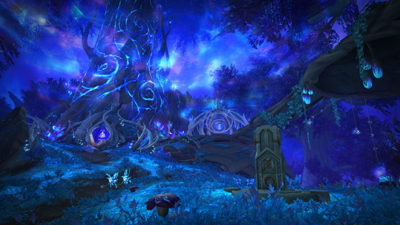 WoW Shadowlands - Ardenweald & Night Fae Covenant Preview