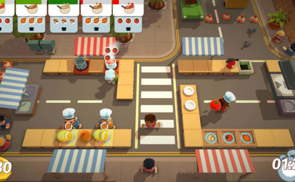 Claim Overcooked For Free on Epic Games Store