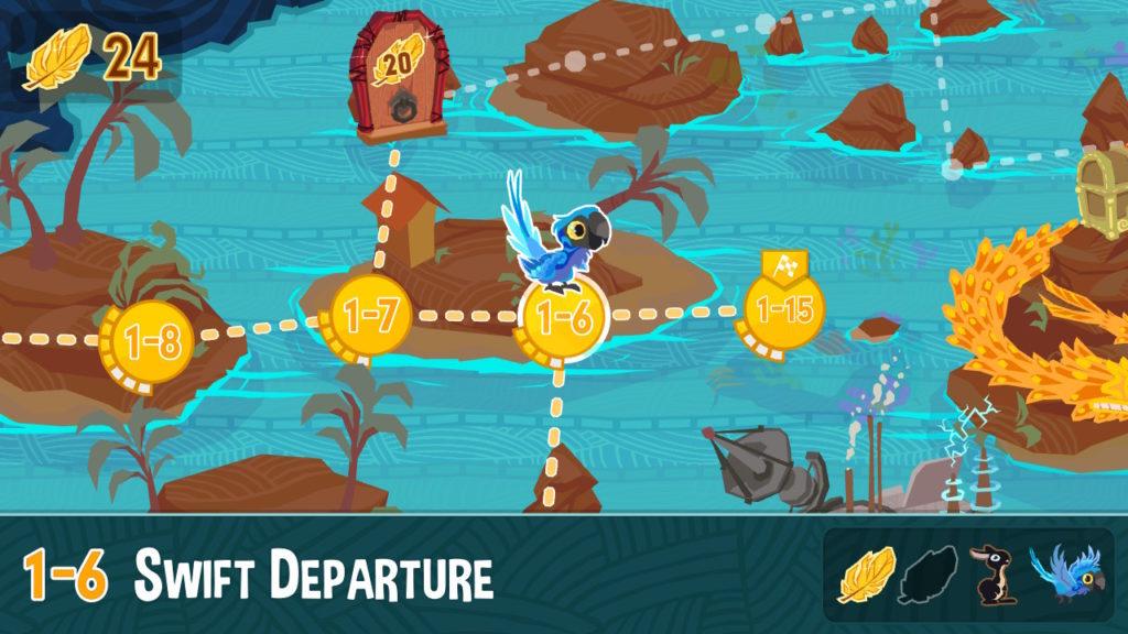 Fledgling Heroes Level Map