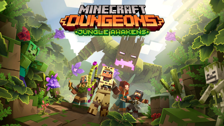 Minecraft Dungeons - First DLC Will Take Players To Jungle in July