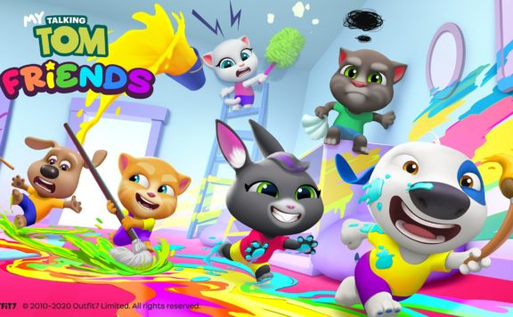 My Talking Tom Friends, out now - Cleaning_Disaster