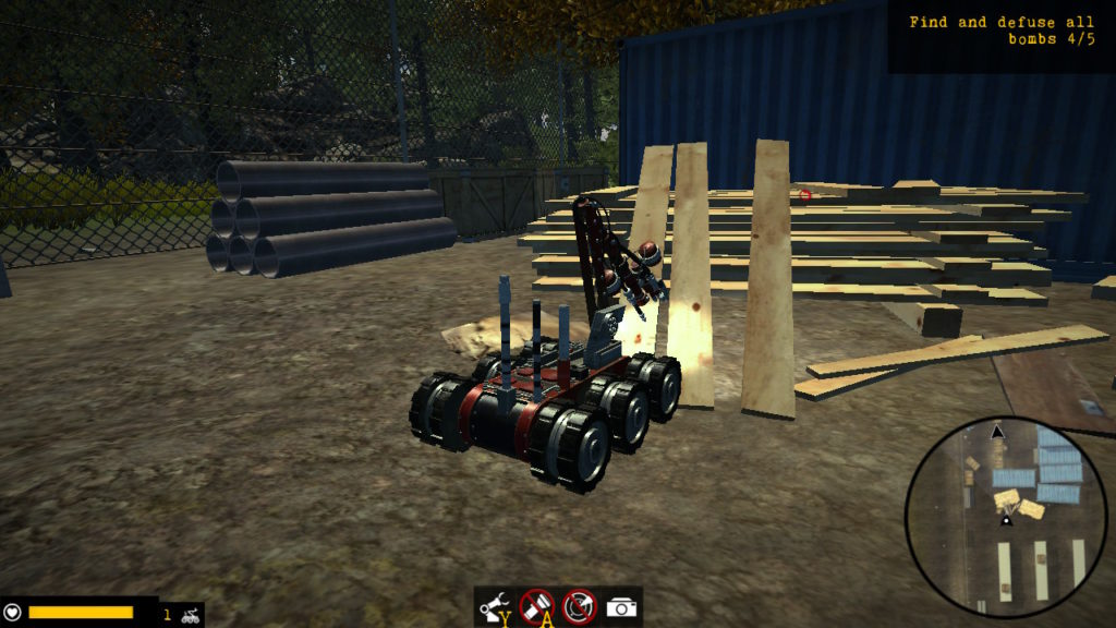 Robot Squad Simulator Junkyard Dog