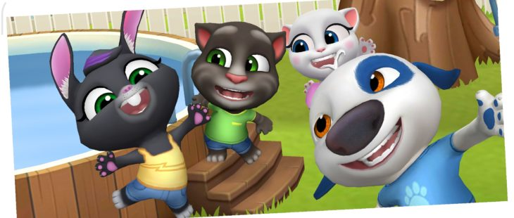 talking tom friends POK-A-TOM