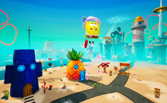 SpongeBob SquarePants Battle for Bikini Bottom - How Graphics Changed in 17 Years