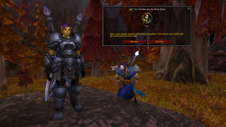 World of Warcraft - Explore Azeroth With Friends Using Party Sync