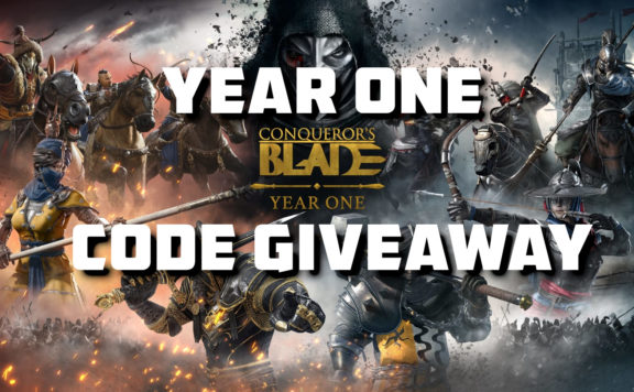 Year one Conqueror's Blade code giveaway