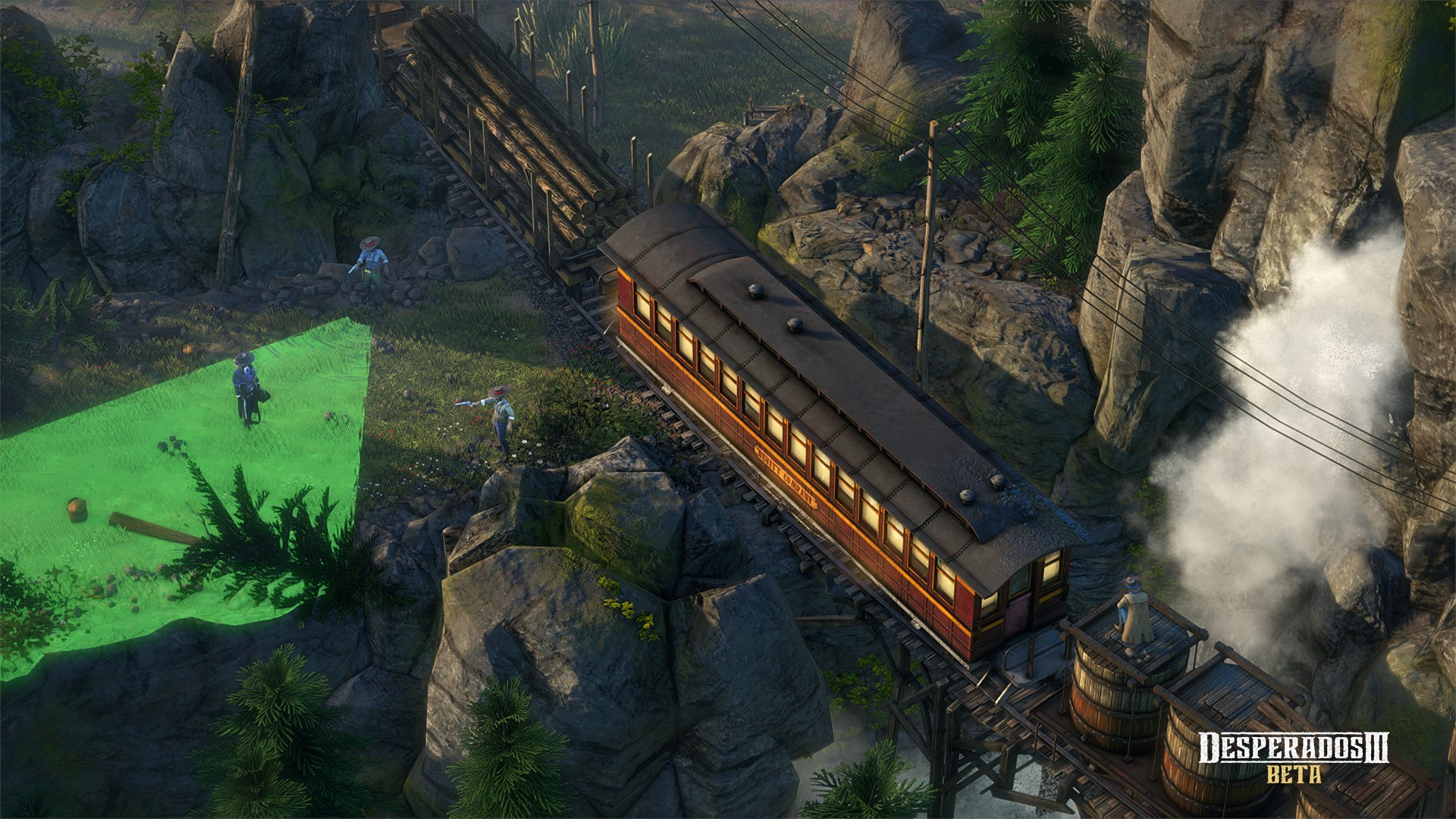 Choose Your Adventure With New Desperados Iii Interactive Trailer Gamespace Com