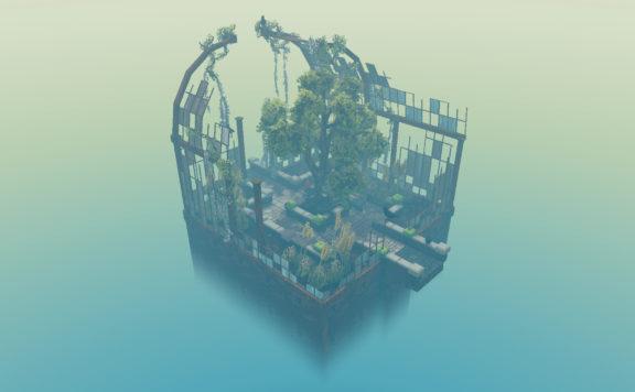 Cloud Gardens - Experimental Sandbox Title by Noio