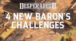 Desperados III - Baron's Call Free Update Is Now Available