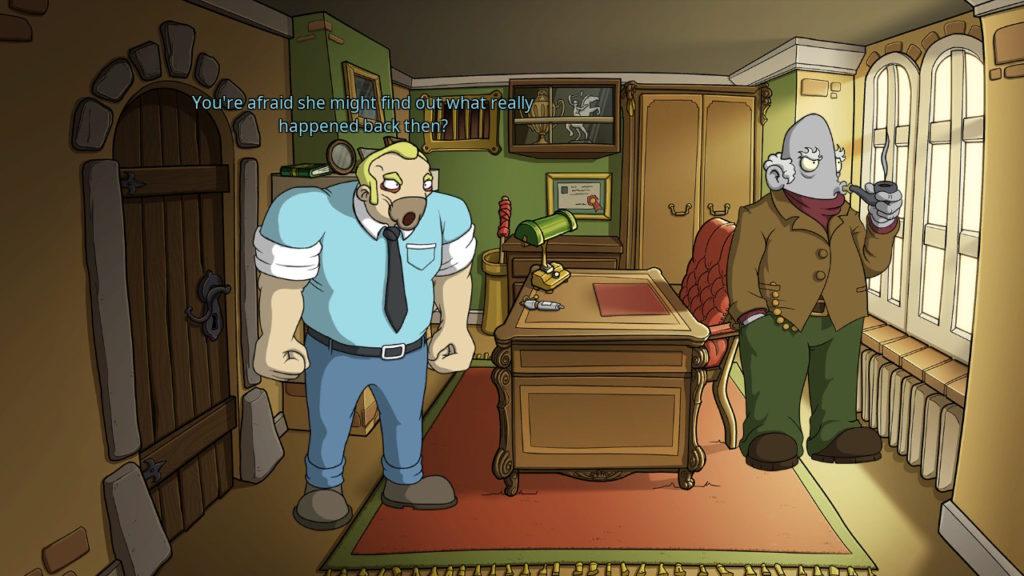 Edna & Harvey-Office