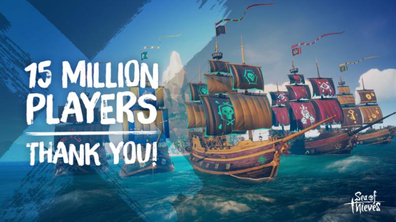 Sea of Thieves Passes 15 Million Players Milestone