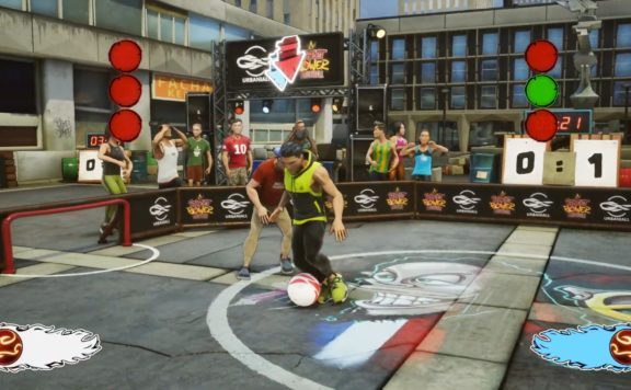 street power football panna trailer