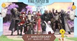 Final Fantasy XIV Online 7th Anniversary Photograph