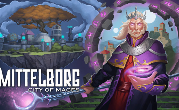 Mittelborg: City Of Mages Banner