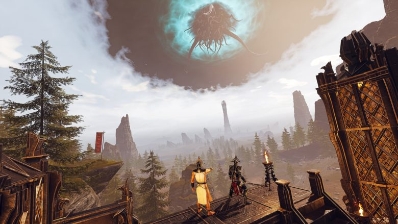 Conan Exiles Isle of Siptah portal in the sky