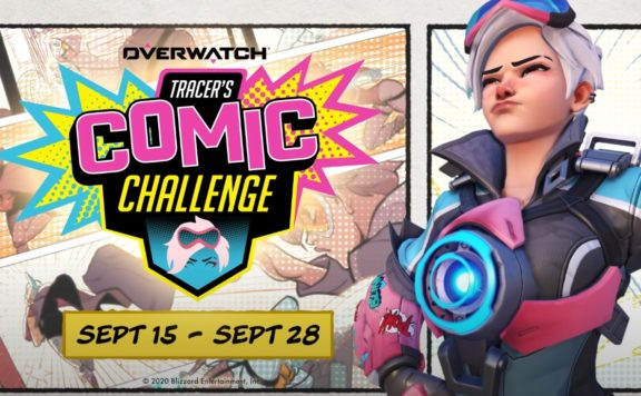 Overwatch - Tracer's Comic Challenge