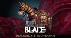 Get A Free Draconic Attire Pack For Conqueror's Blade