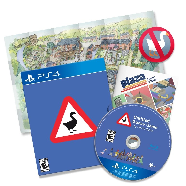 untitled goose game physical edition