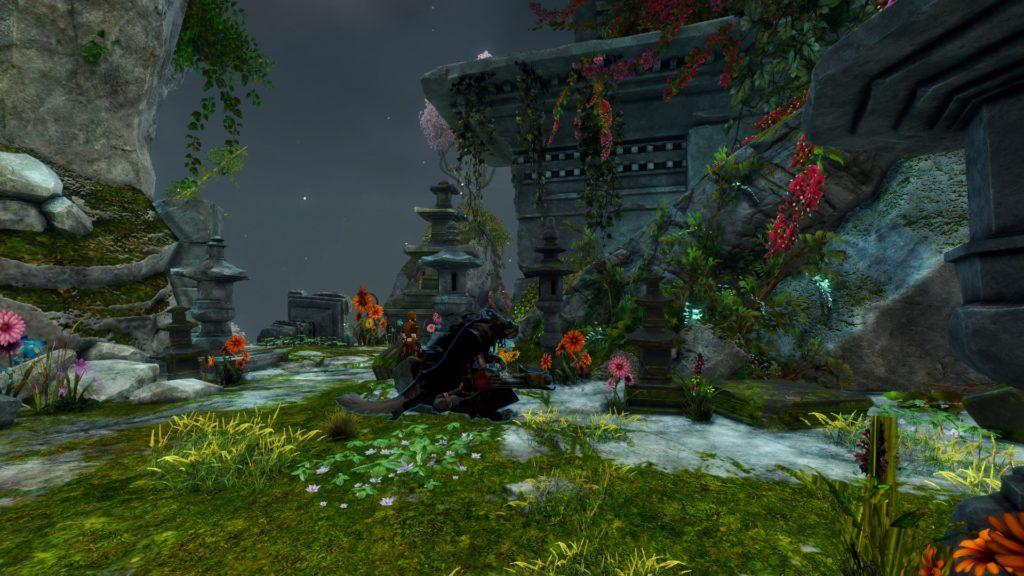 Sunqua Peak a Canthan garden screenshot