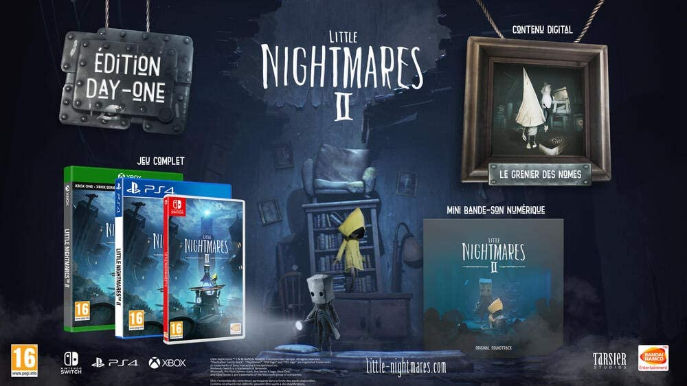 little nightmares 2 pre order day one edition