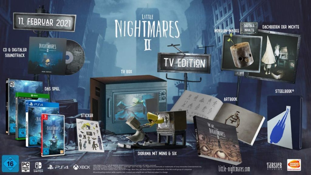little nightmares 2 tv edition pre order