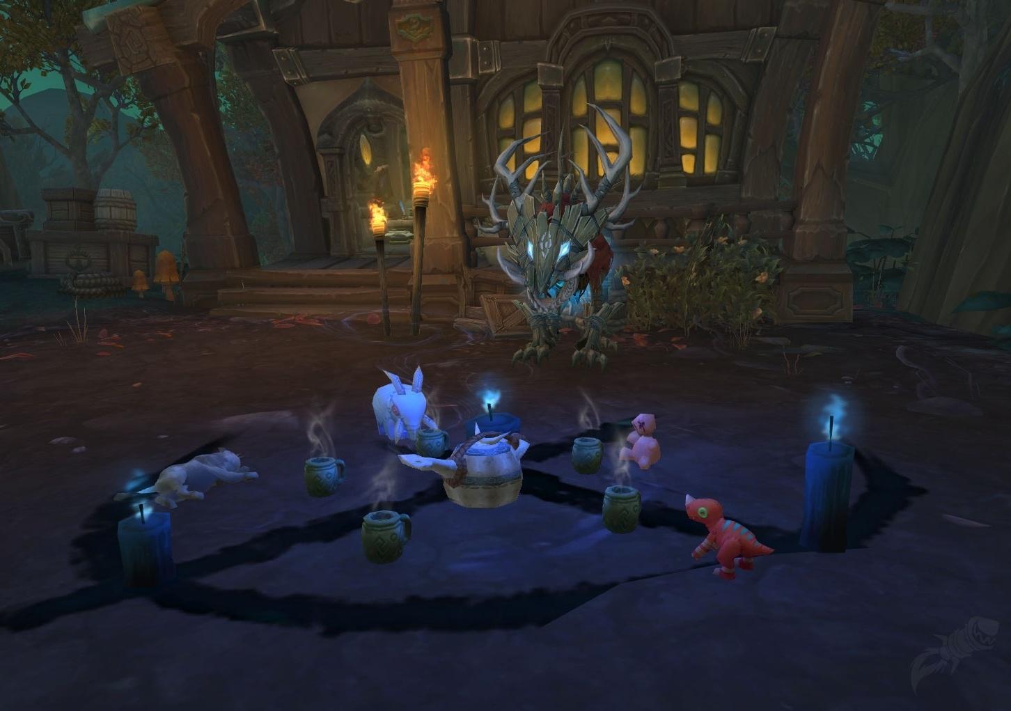 The ritual in Drustvar that broke my heart.