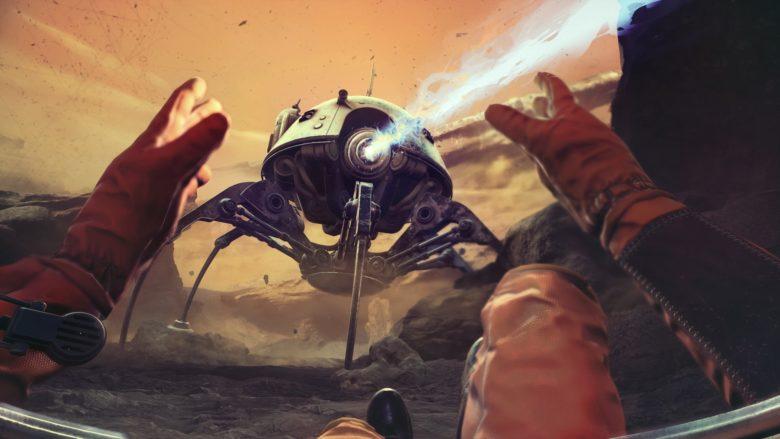 The Invincible alien walker