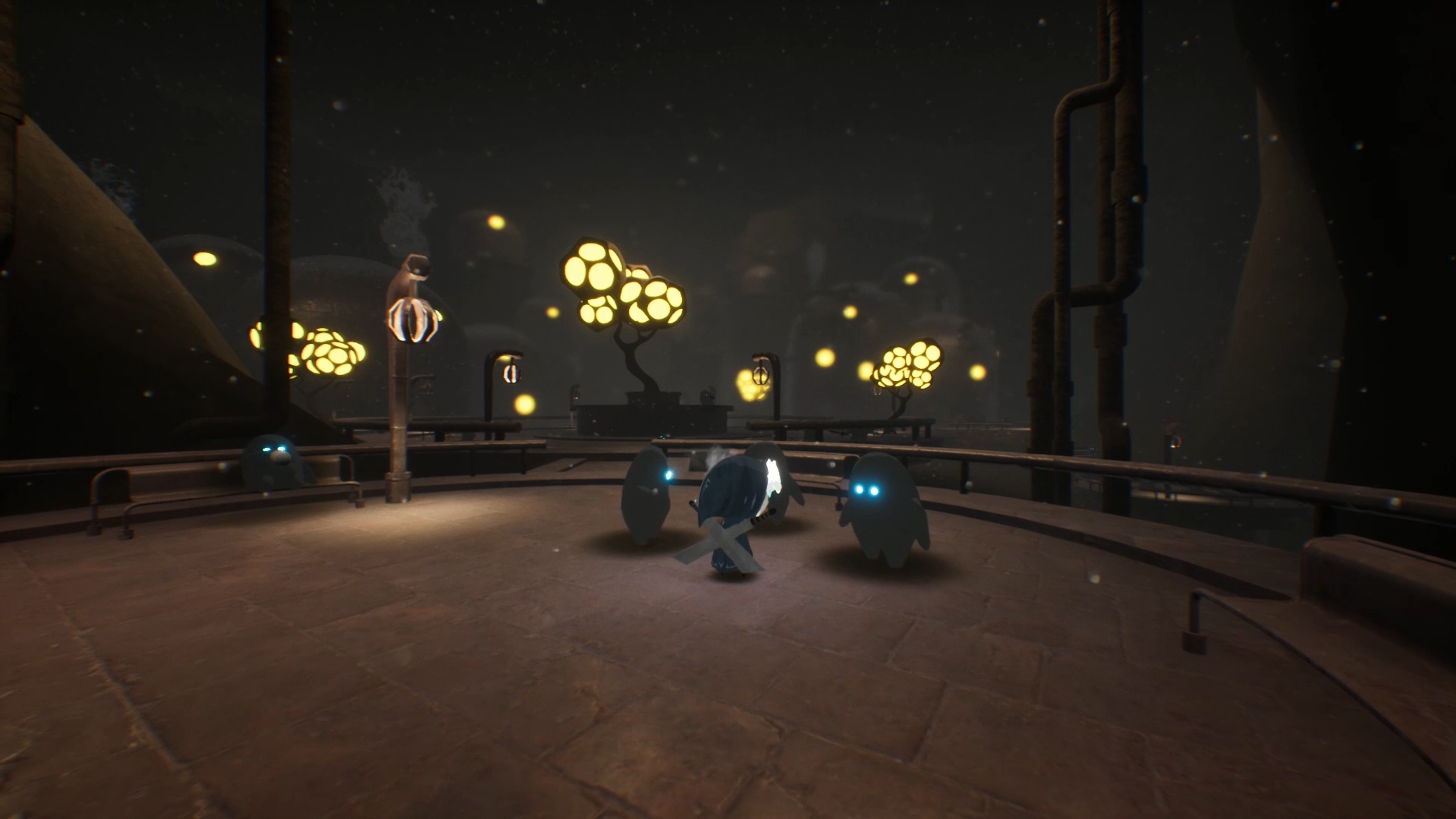 Meet new friends and learn more about the world of Penumbra in Blue Fire.