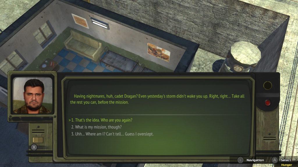 Atom RPG - Dialogue