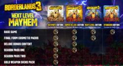 Borderlands 3 Reveals Ultimate Edition
