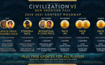 Civilization VI - First Look at Pirates Multiplayer Scenario 2
