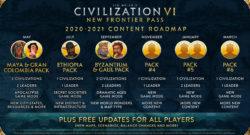 Civilization VI - First Look at Pirates Multiplayer Scenario 2