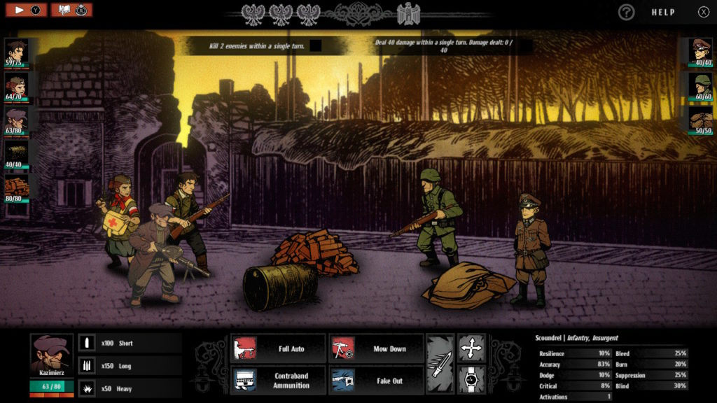 Warsaw Switch - Confrontation
