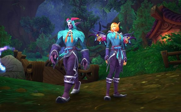WoW Shadowlands - New Transmog Set Available on the In-Game Store