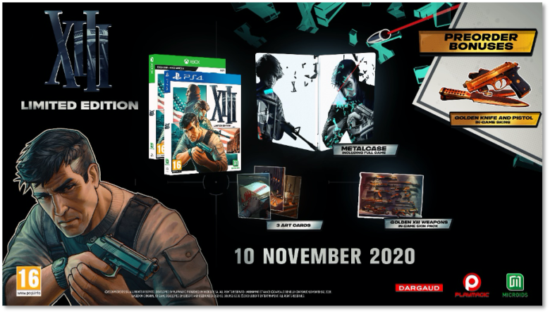 XIII Will be Coming to Switch in 2021