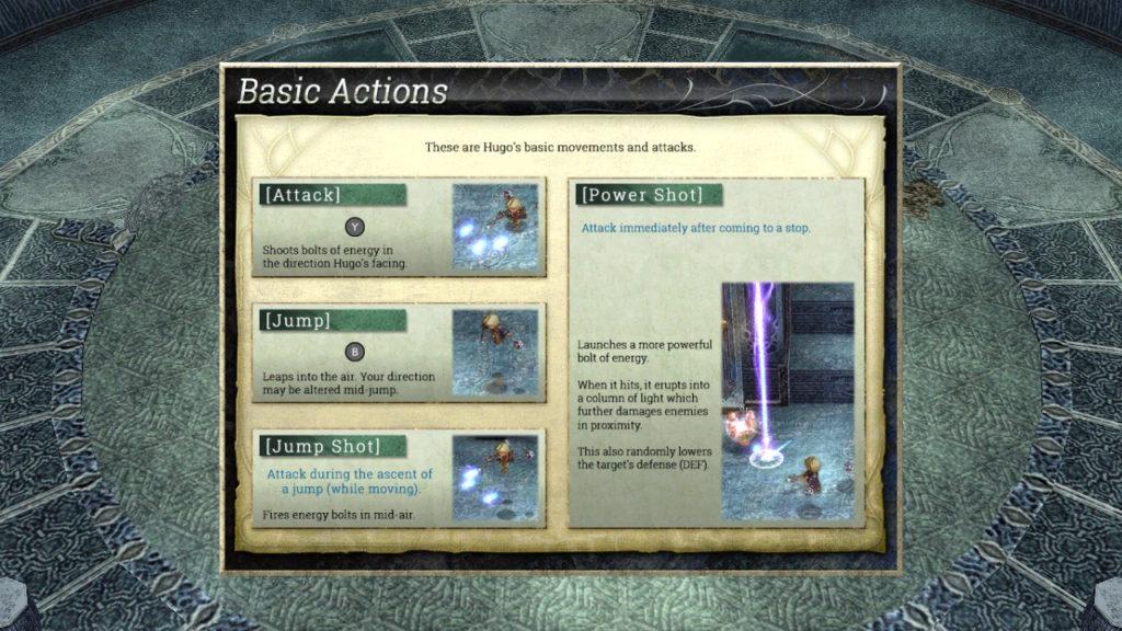 Ys Origin - Basic Actions