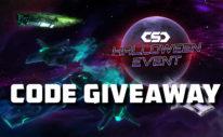 csc halloween event code giveaway
