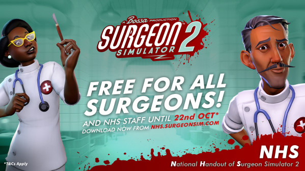 surgeon simulator 2 free