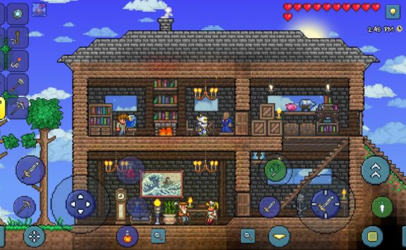 terraria mobile journeys end
