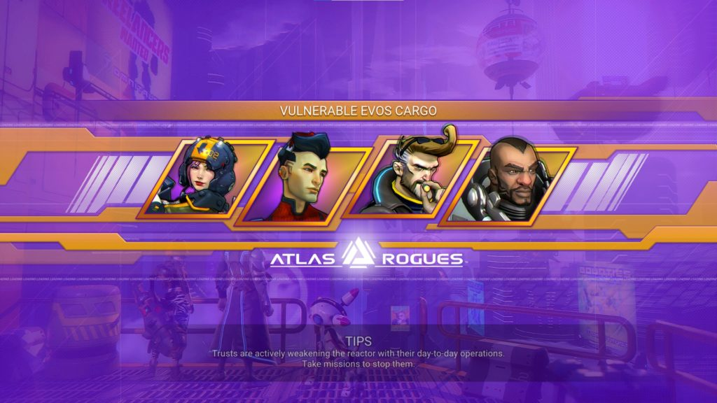 Atlas Rogues Mission Load